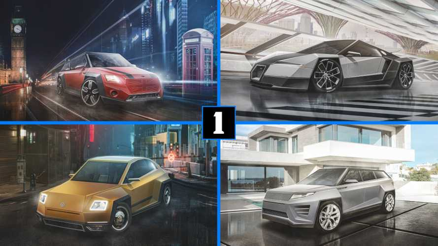Tesla Cybertruck Treatment Given To Iconic Cars In Weird Renderings