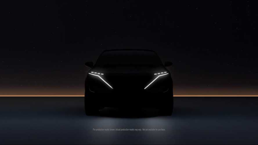 Nissan Ariya Electric Crossover Teased Ahead of July 15 Reveal