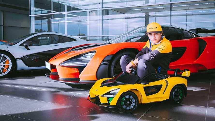 """McLaren Senna """"Ride-On"""", il giocattolo definitivo"""