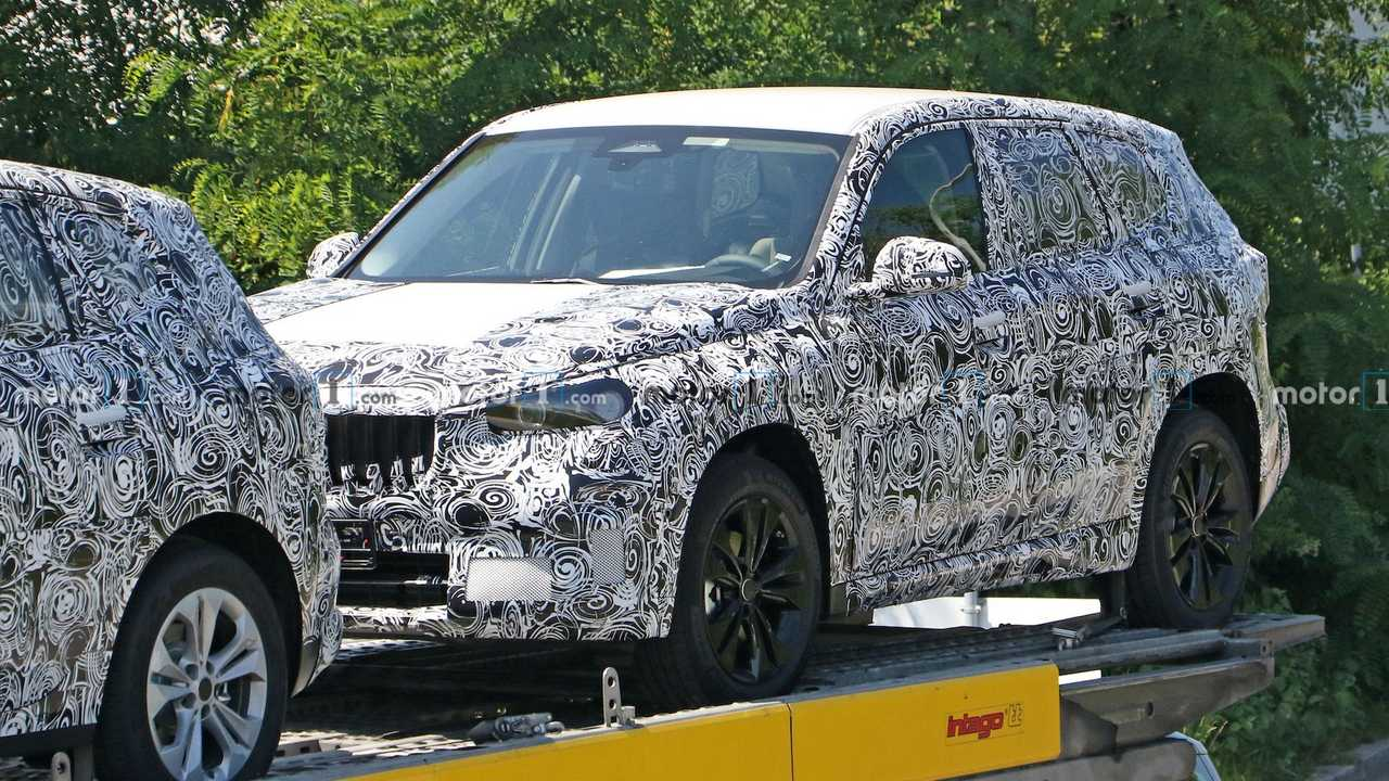 BMW X1 Front Quarter Spied