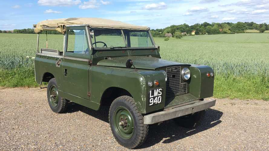 One of history's most significant Land Rovers has been stolen