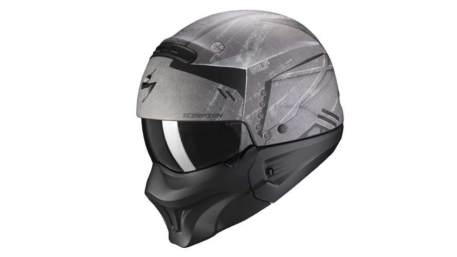 Exo Combat Evo, il casco jet aggressivo di Scorpion Sports