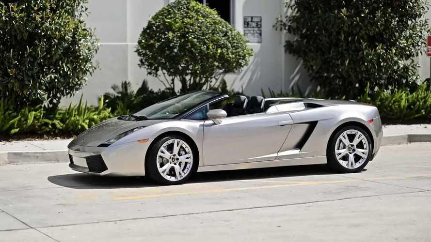 Egészen különleges utastérrel árulnak egy Lamborghini Gallardót