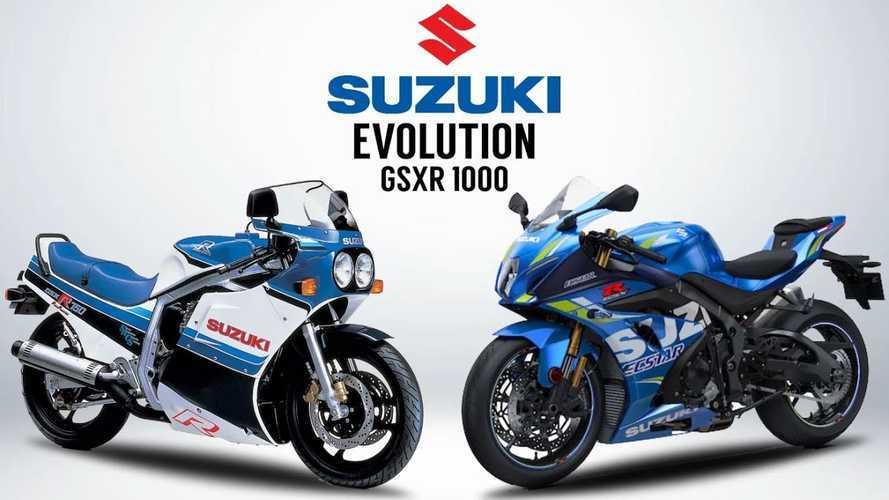 Motorcycle History 101: Suzuki GSX-R Superbikes