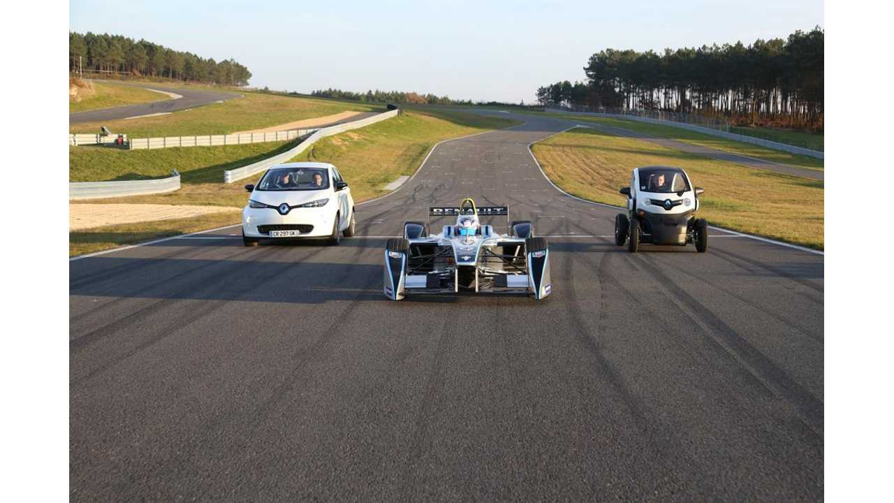 Keepin' In It The Family - Renault EV Family Portrait
