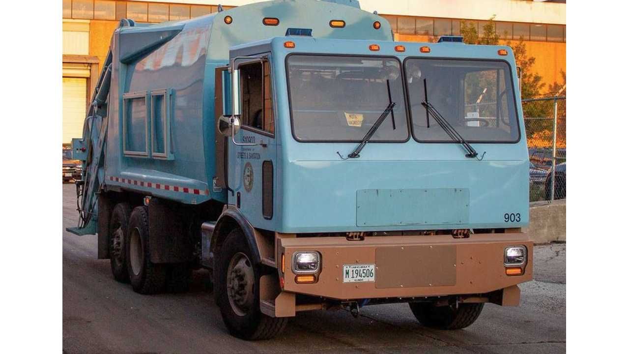 U.S.' First All-Electric Garbage Truck Gets Revealed