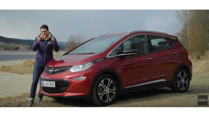 Opel Ampera-E: The Most Extensive Review You Will Ever See - Video