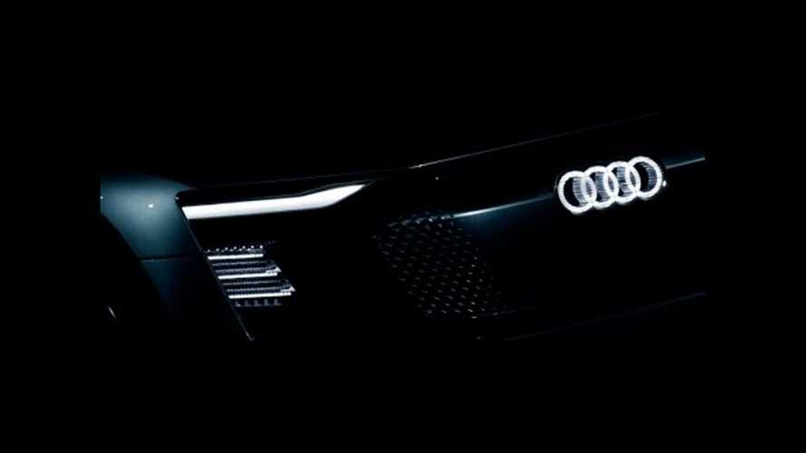 Audi E-Tron Concept Teaser Takes LED Lighting To The Extreme