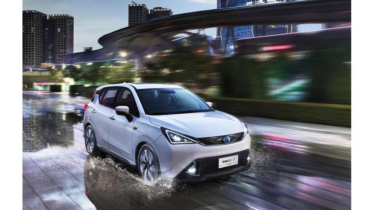 GAC Motor's GE3: a pioneer model of smart all-electric vehicles