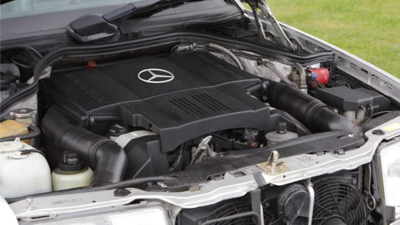 Rowan Atkinson's 1991 Mercedes 500E