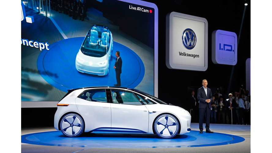 Production Volkswagen I.D. Hatchback To Look Like Concept