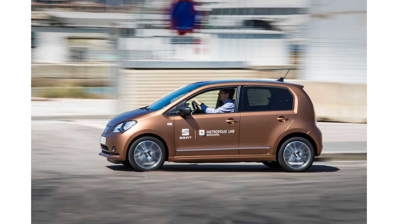 SEAT Mii Electric Car Sharing Launches In Spain