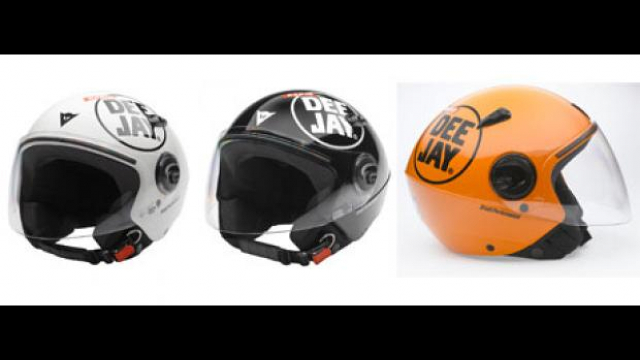 Dainese D-jet colors Radio Deejay