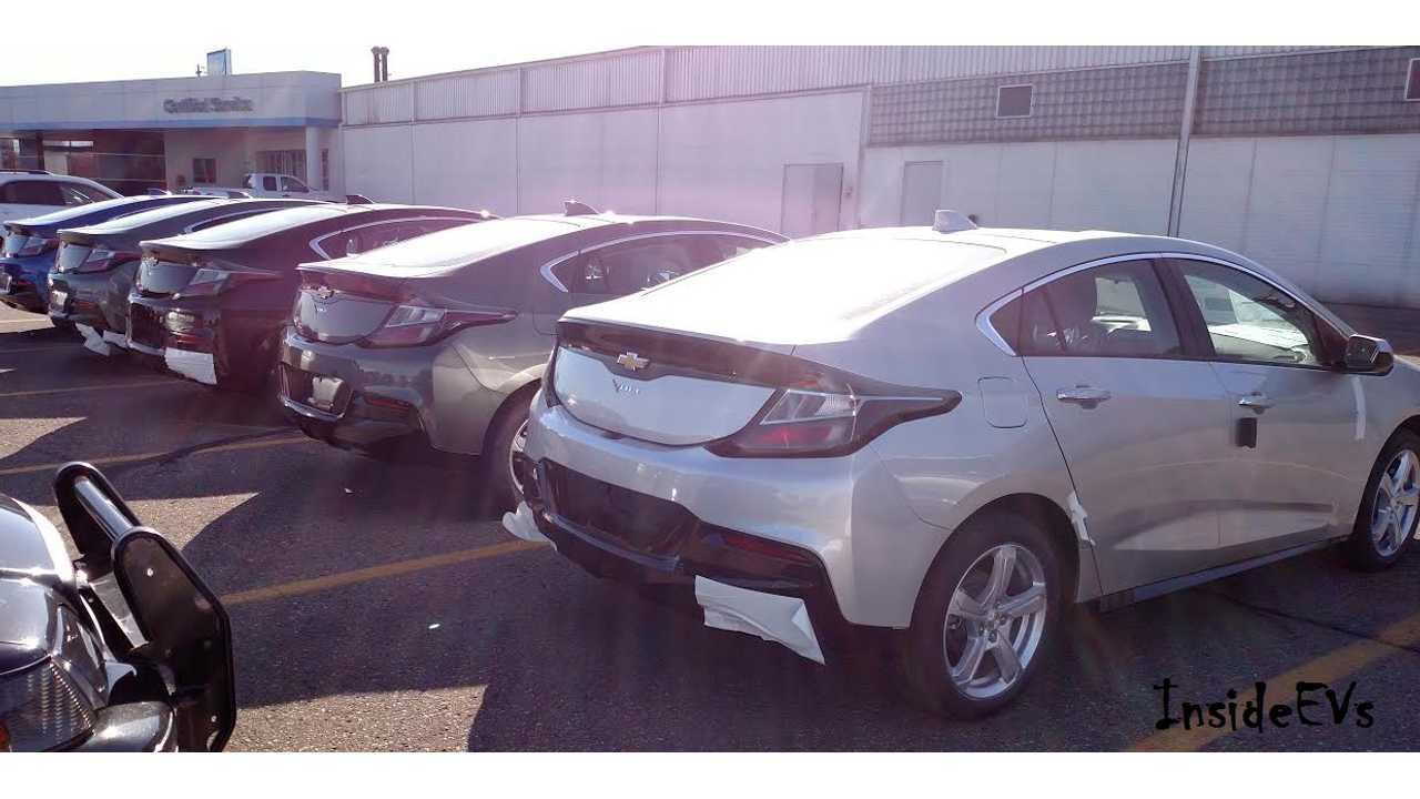 The first 2017 Chevrolet Volts Arrive At A Michigan Dealer On February 17th (via Jeff K)