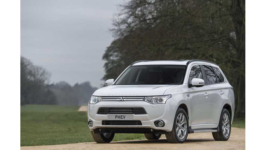 Mitsubishi Launches Two Up-Level Versions Of Outlander PHEV