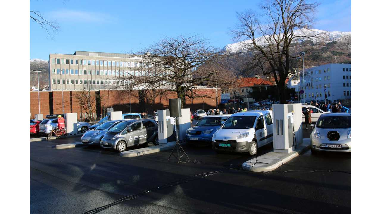 600 kW, 14-Spot Charging Station Launched In Norway