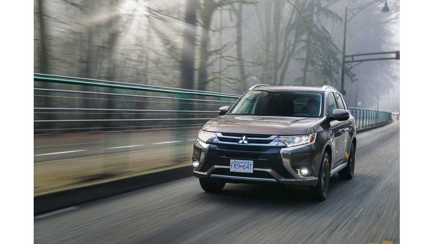 It Took 2 Years To Sell 7,000 Mitsubishi Outlander PHEVs In The U.S.
