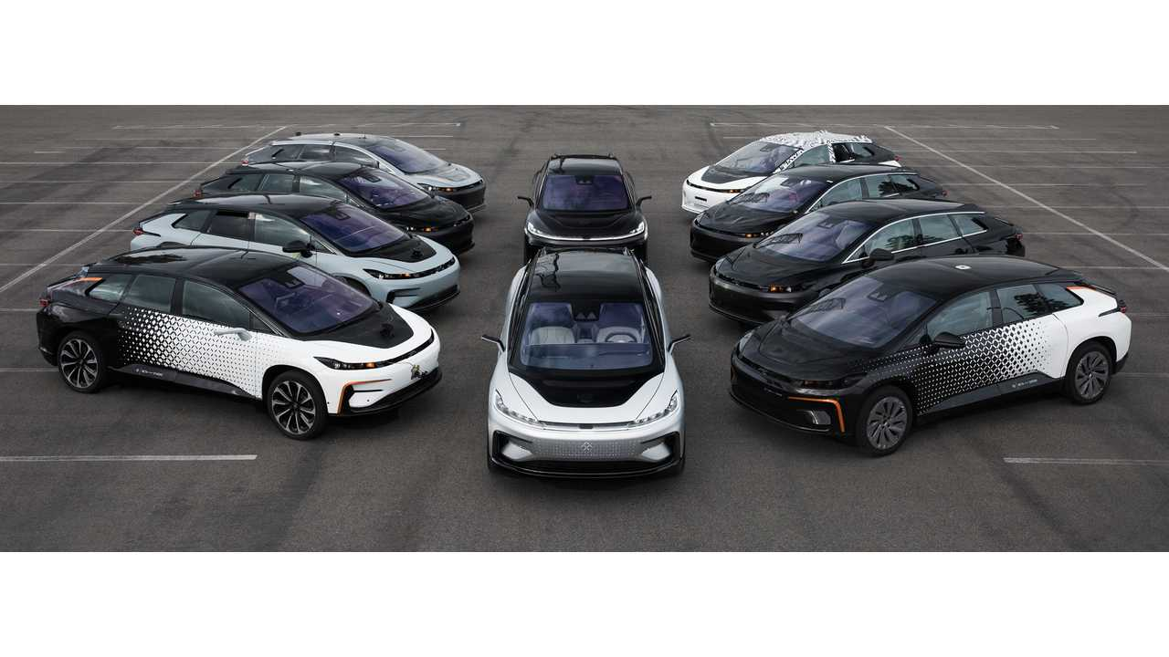 Faraday Future Trying To Sell Its Industrial Park Outside Of Vegas