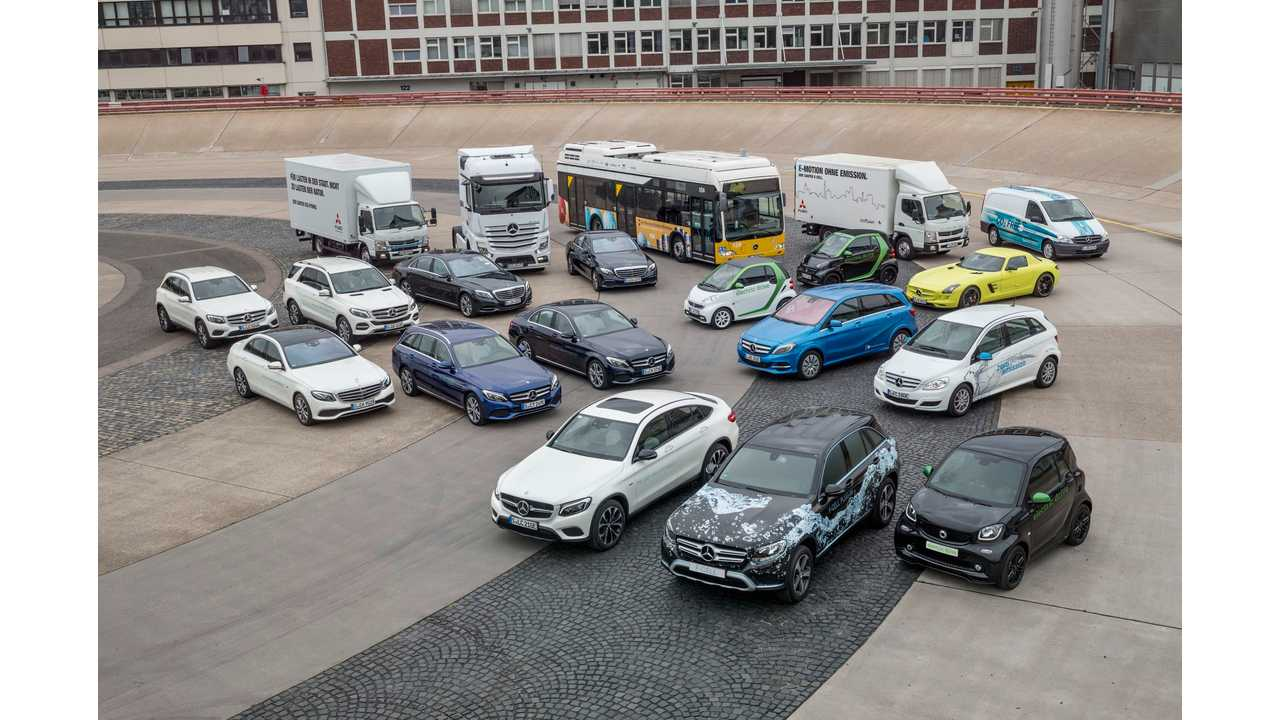 All Mercedes Series To Be Electrified,  Plus A Quick Look At Future Long-Range EV Architecture