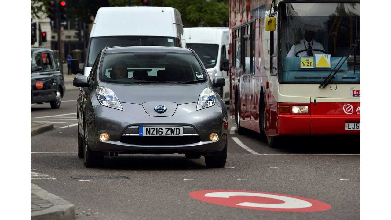 Nissan Offers Discounts On The LEAF In UK For Conventional Hybrid Owners