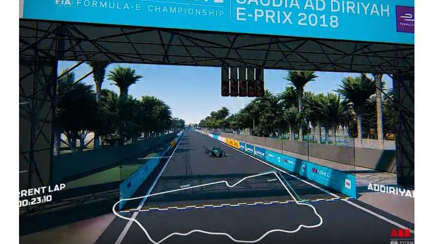 Formula E Ad Diriyah Track Reveal: Video