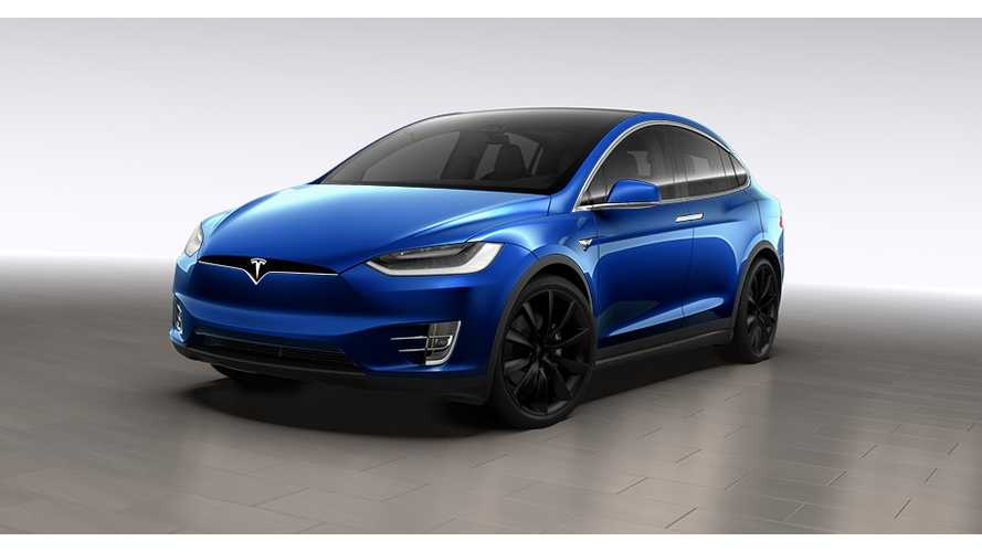 Tesla Model X Test Drive Causes Unusual Phenomenon