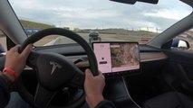 Watch Tesla Model 3 Performance Set New Laguna Seca Record
