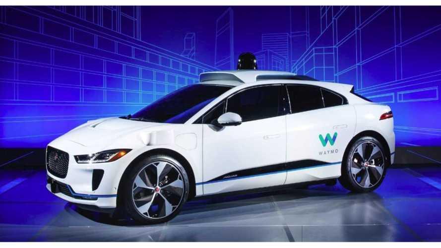 Google's Waymo Brings Autonomous Jaguar I-Pace To Life