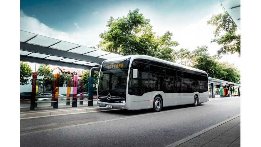 Mercedes-Benz Presents eCitaro Electric Bus (w/videos)