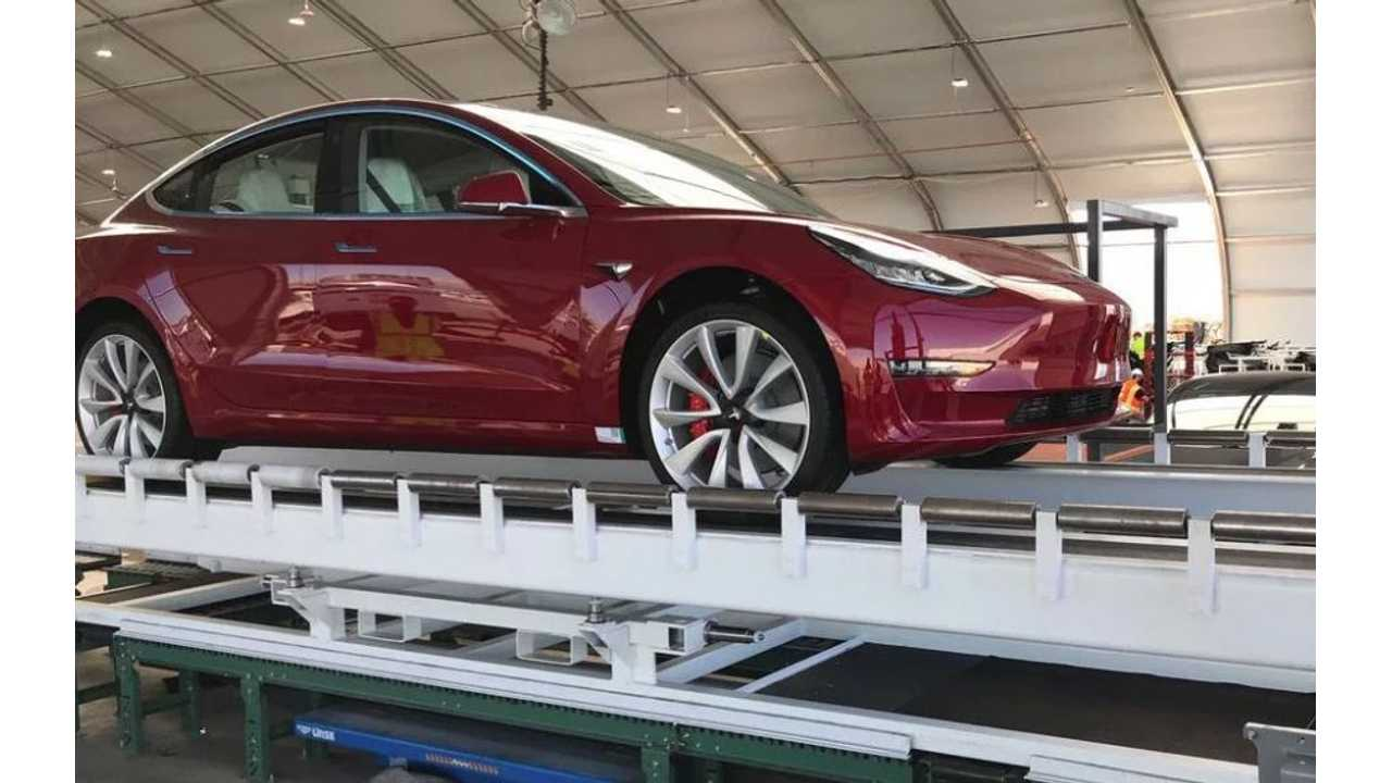 Tesla Registers Over 2,000 Dual-Motor Model 3 VINs