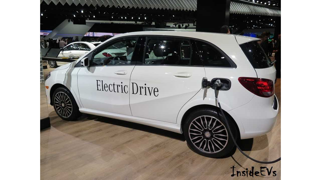 Mercedes-Benz B-Class Electric Drive Out, Long Range EQ A Electric In
