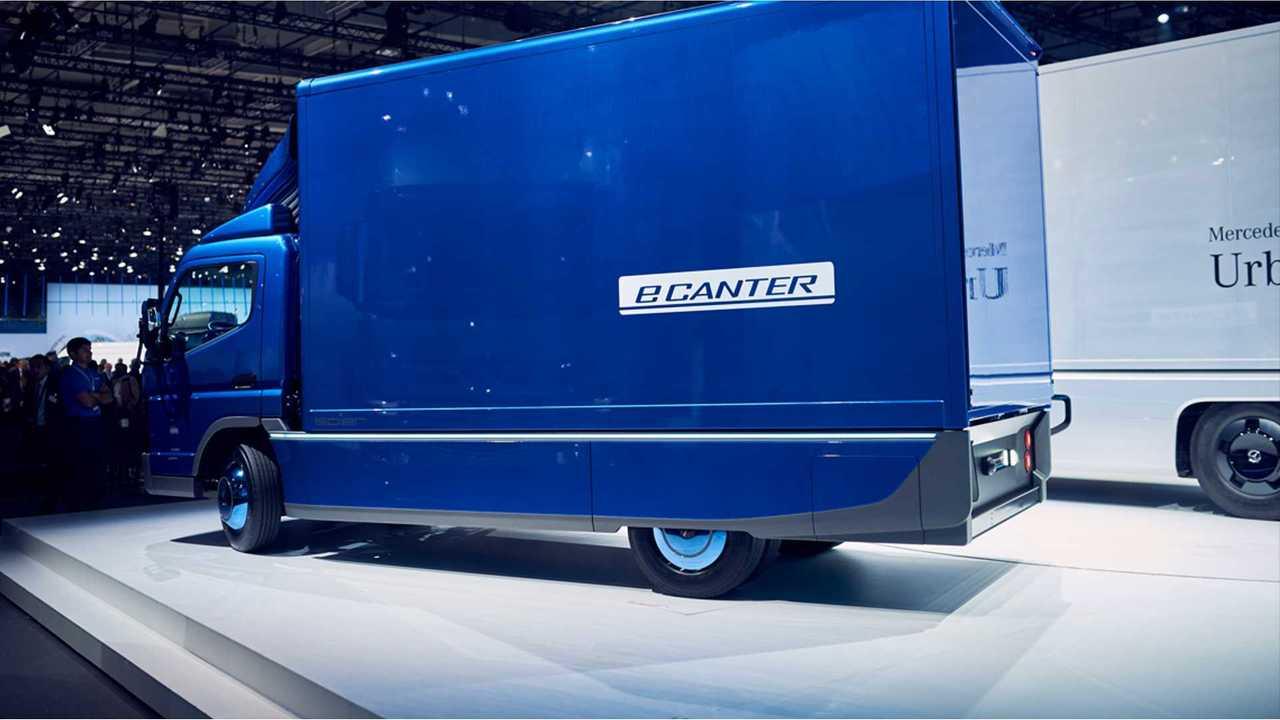 Daimler Fuso eCanter Electric Truck Enters Production