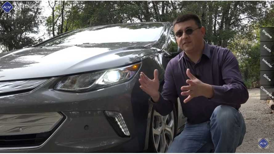 Thorough 2016 Chevrolet Volt Test Drive And Child Seat Check - Video