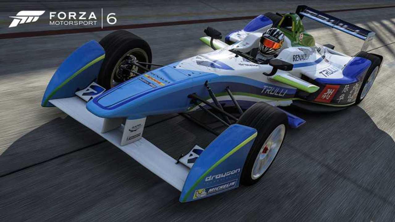 Forza Motorsport 6 To Get Formula E Race Cars