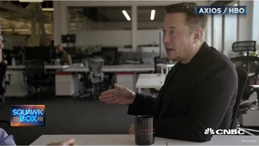 Elon Musk Interview: Tesla Was Near Death During Model 3 Ramp-Up