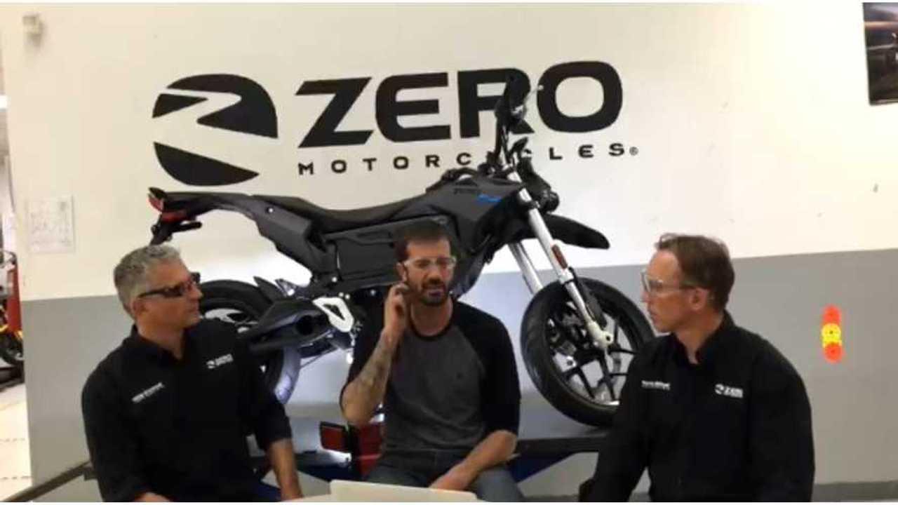 ZeroCast: Zero Motorcycles Factory Visit with Bob Burnquist