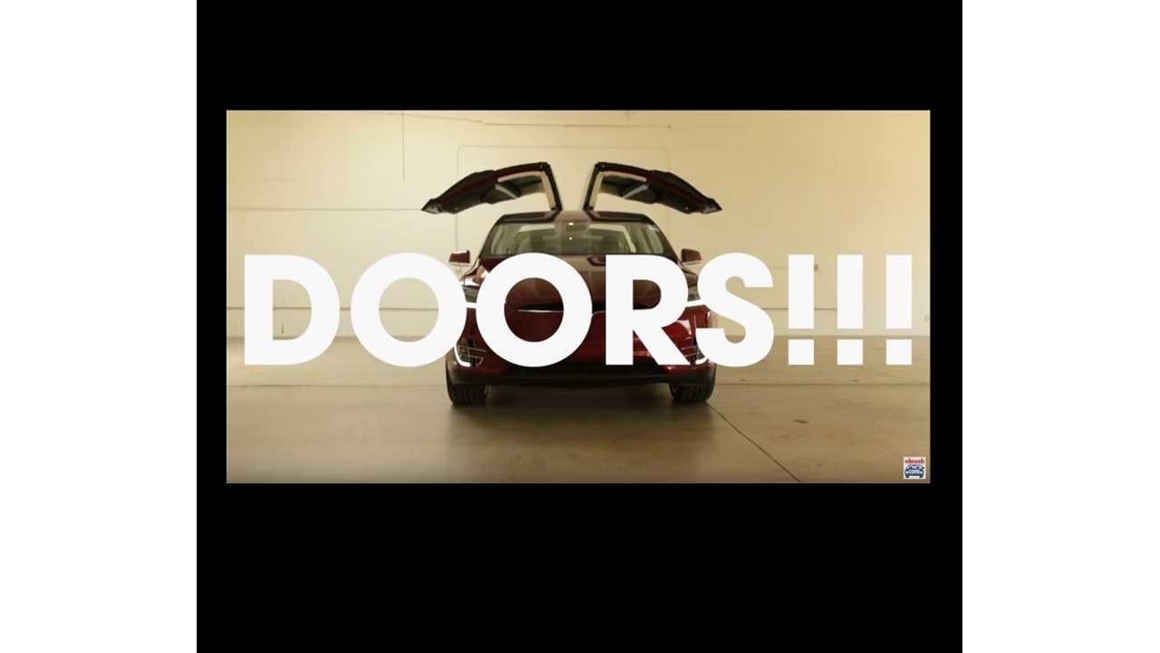 Video:  32 Nifty Things About The Tesla Model X