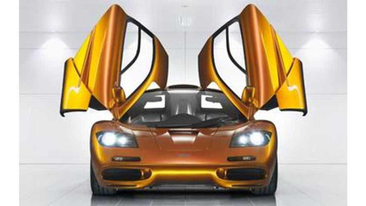 McLaren P1 LM Aims For Nurburgring Lap Record