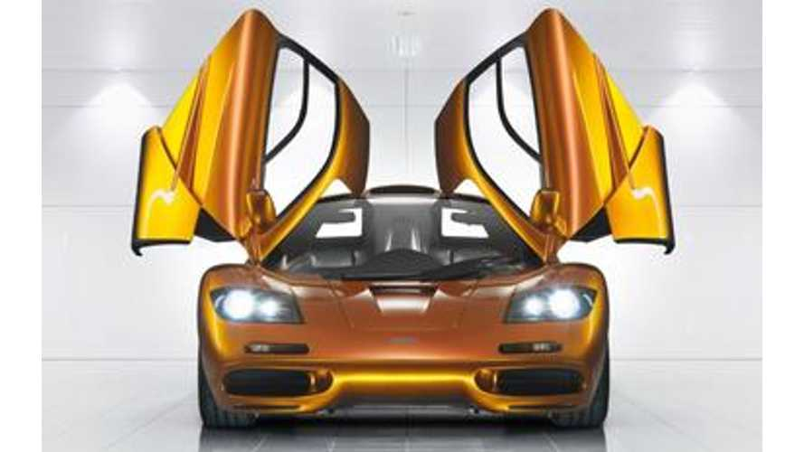McLaren P1 LM Aims For Nurburgring Lap Record
