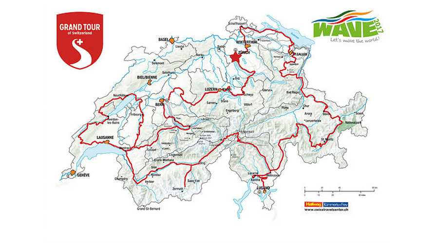 """World's Largest EV Rally WAVE To Cover 1,600 km """"Grand Tour of Switzerland"""""""
