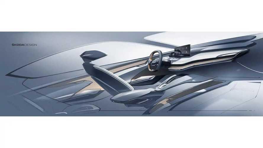 Škoda Teases New Interior For Vision iV Concept