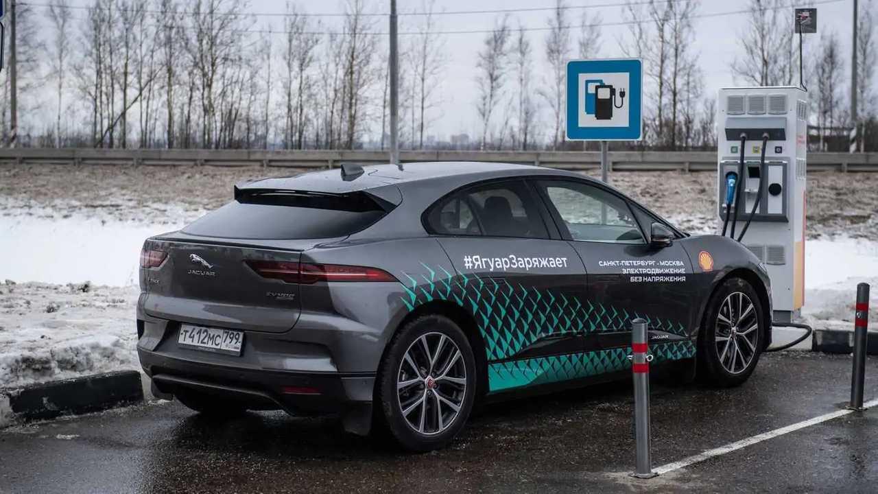 Resultado de imagem para Jaguar i-Pace in russia