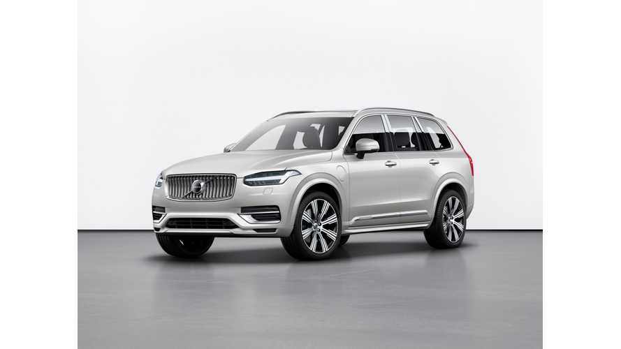 Volvo Reveals Refreshed XC90 T8 Twin Engine PHEV