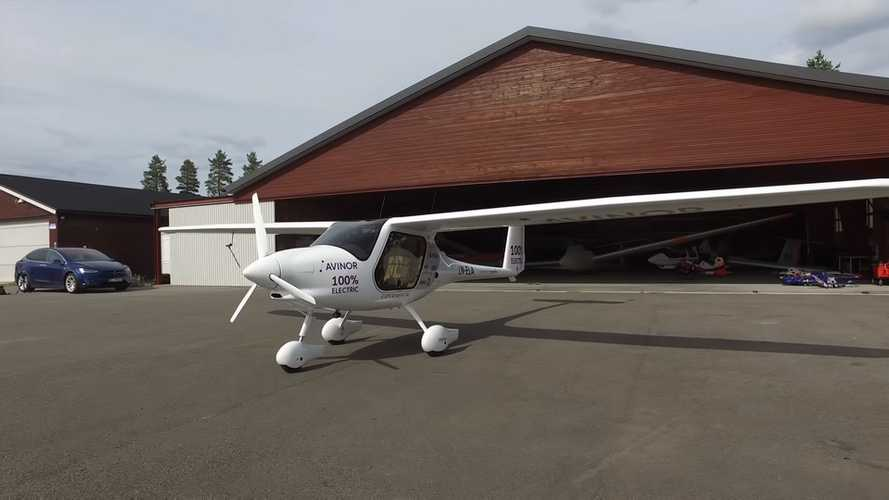 Bjorn Takes To The Skies In The Pipestrel Electric Airplane