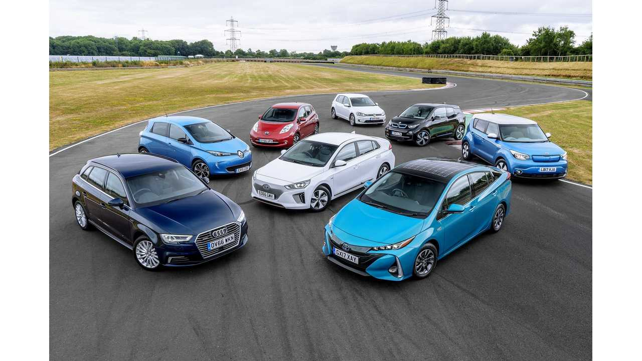 UK Publishes Strategy To Electrify By 2040, But Not Ban ICE Cars