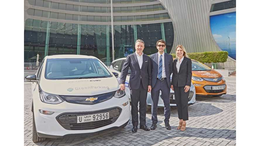 First Chevy Bolt EV Delivered In The United Arab Emirates