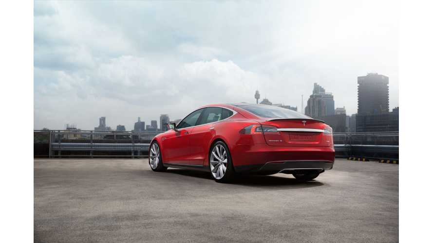 In Australia, Tesla Is Offering 1 Year Of Free At-Home Charging For Model S, X