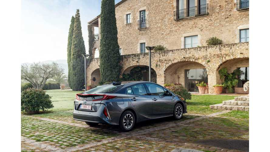 Toyota Prius Prime Sales Soar To 29% Of Total Prius Sales