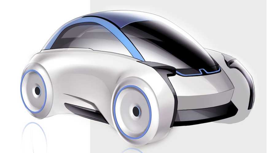 Electric BMW Isetta Rendered