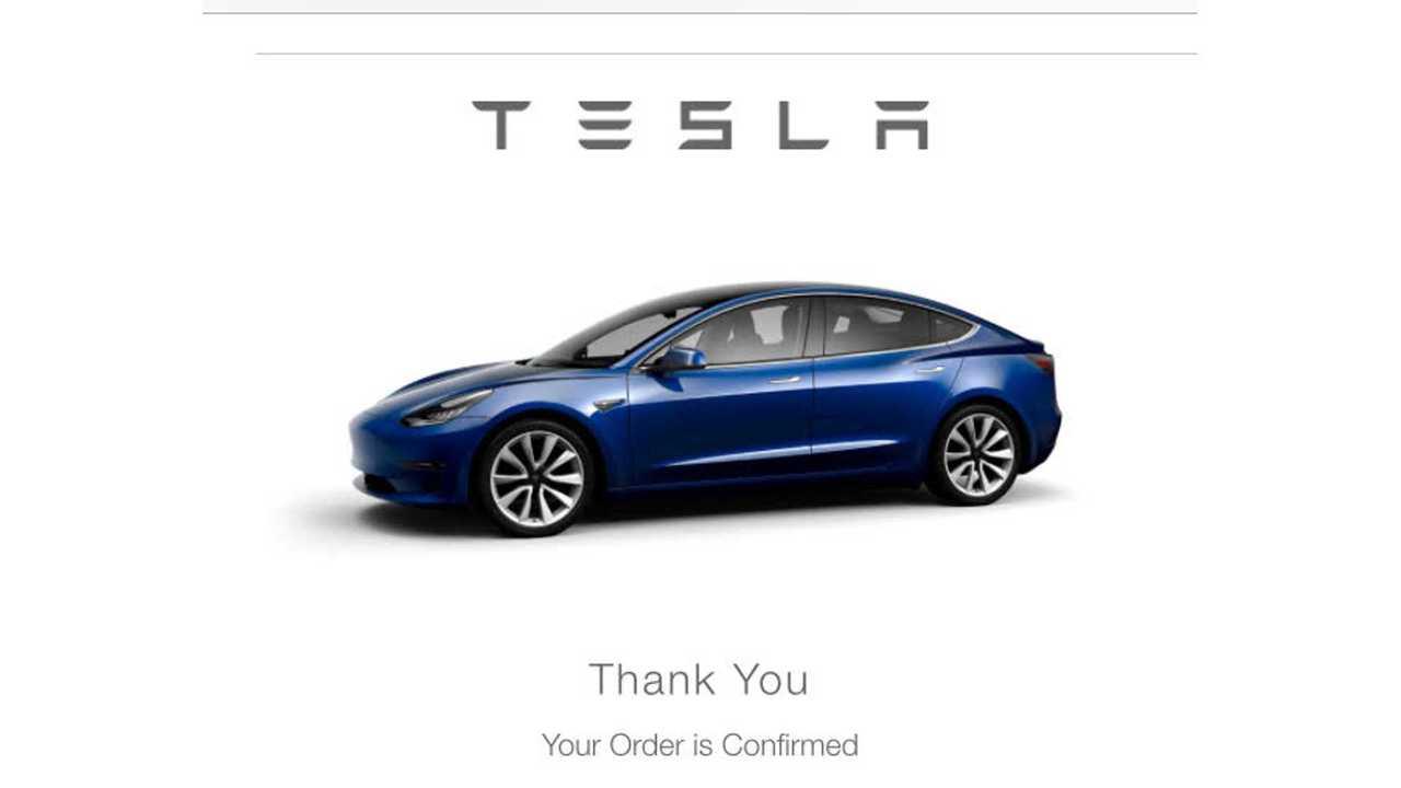 Tesla Model 3 Non-Employee Deliveries To Start Next Week